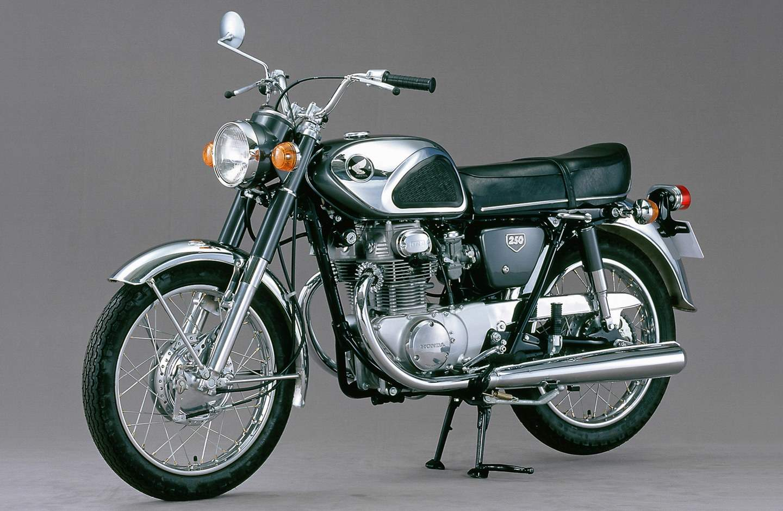 Das 1967er cb 250 modell quelle honda motor co