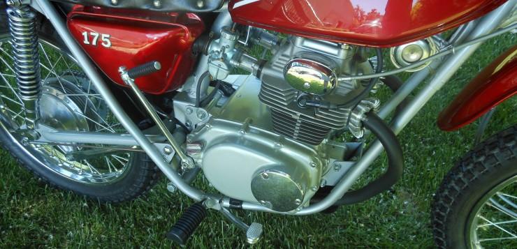 Honda SL 175 Motor