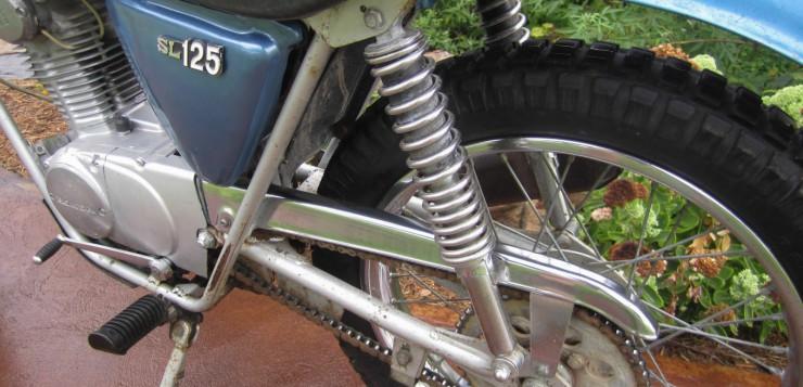 Honda SL 125 Rahmen