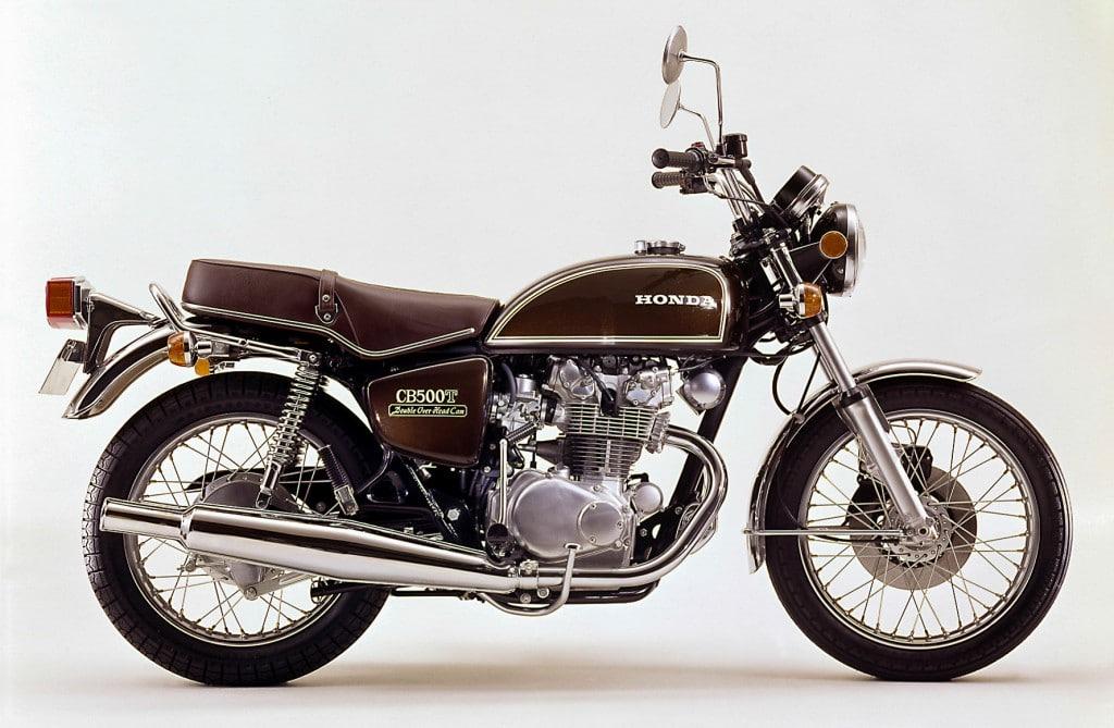 Die Honda CB 500 T erreichte nie den Kultstatus ihre Geschwister
