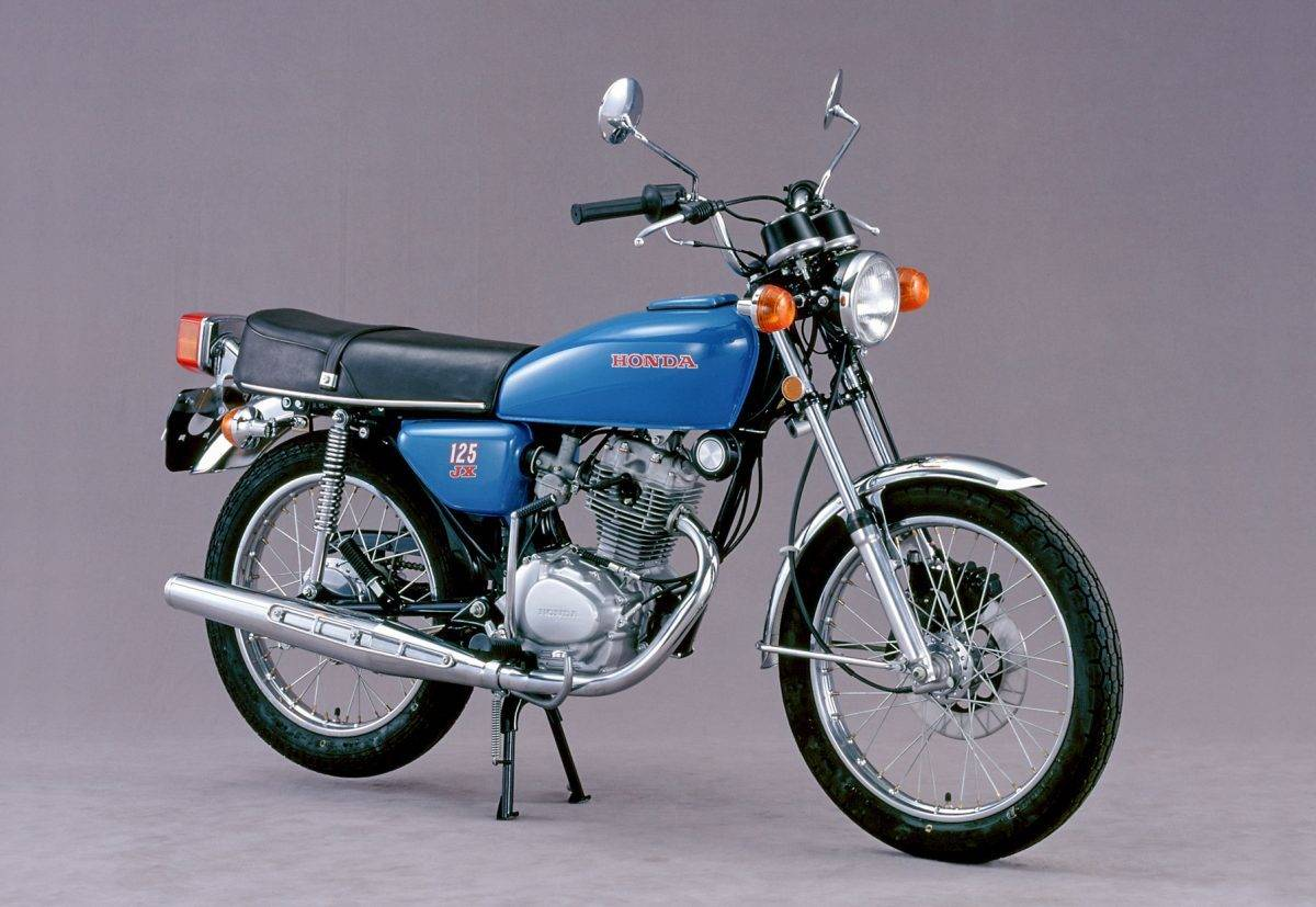 honda cb 125 1965 1976 single honda f r anspruchslose. Black Bedroom Furniture Sets. Home Design Ideas