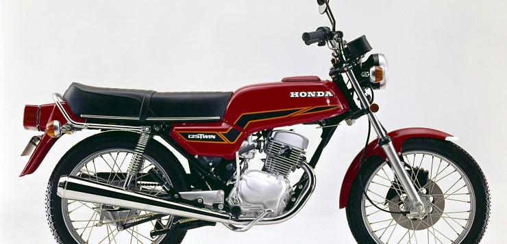 Honda CB 125 T (1977 - 1986) - Schicke Drehorgel