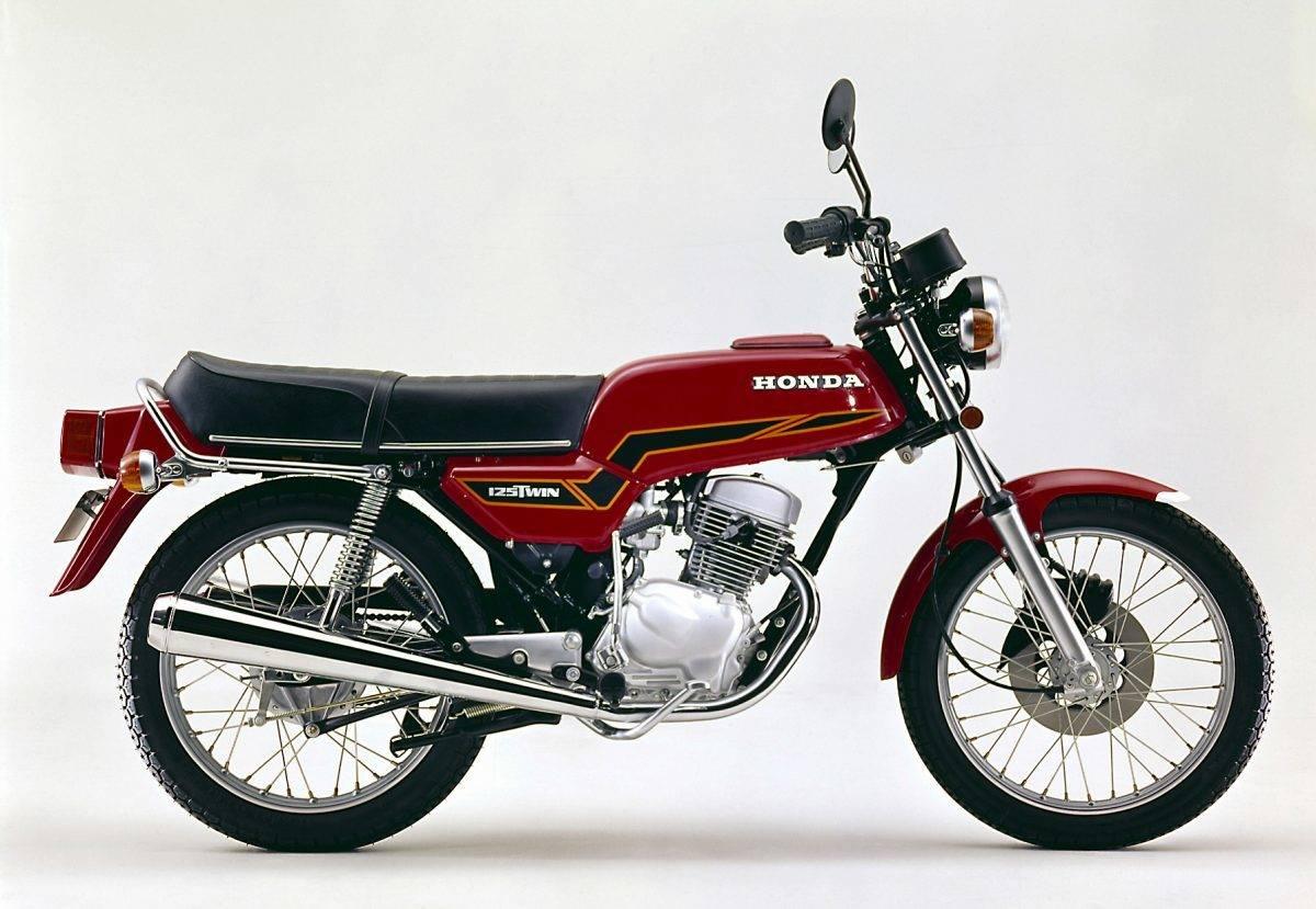 Honda cb 125 t 1977 1986 schicke drehorgel for Bj custom designs