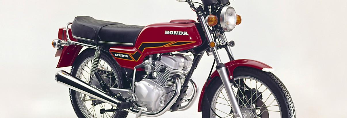 Honda CB 125 T – im Euroline Design