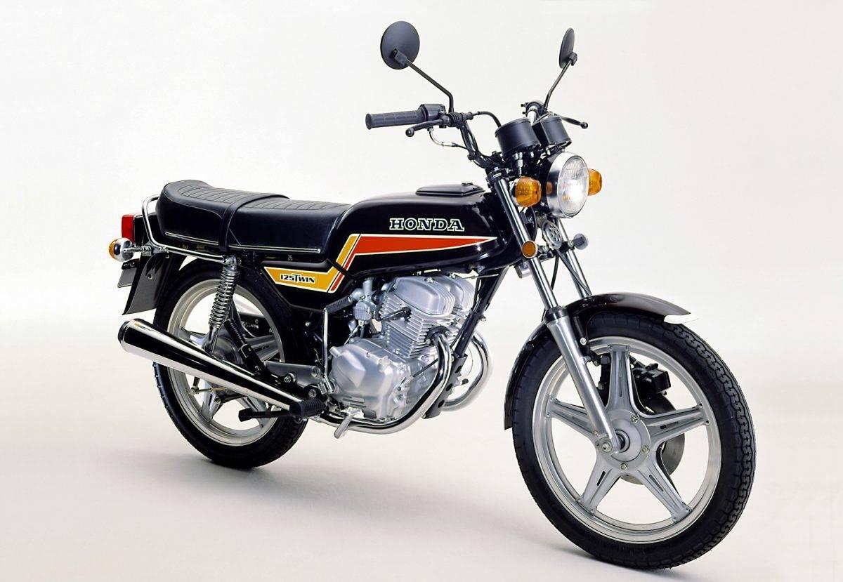 Honda Cb 125 T 1977 1986 Schicke Drehorgel