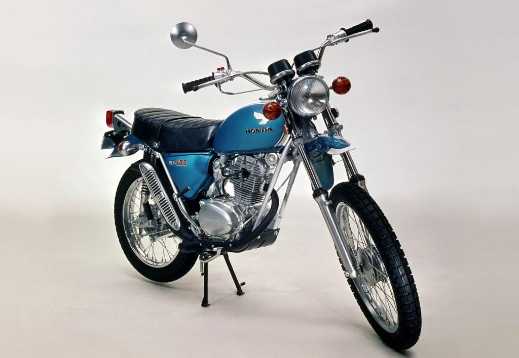 Honda SL 125 / XL 125 (1971-1979) - Kleine Eintopf-Enduro
