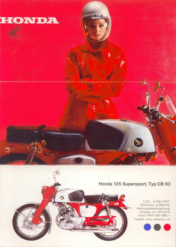 Honda-Werbung CB92