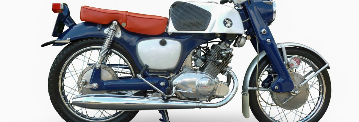 Honda CB 92 Super Sport – die flotte Rennfeile