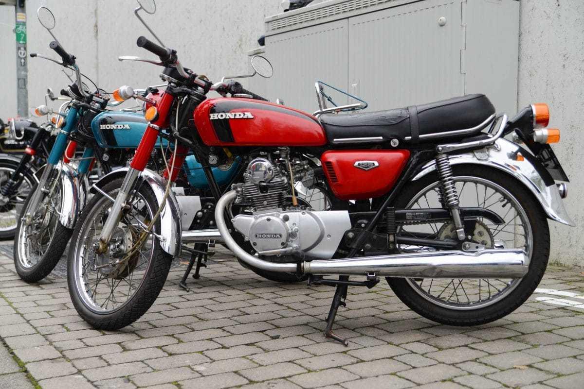 Honda cb 125 k5 von 1973 quelle nippon classic de