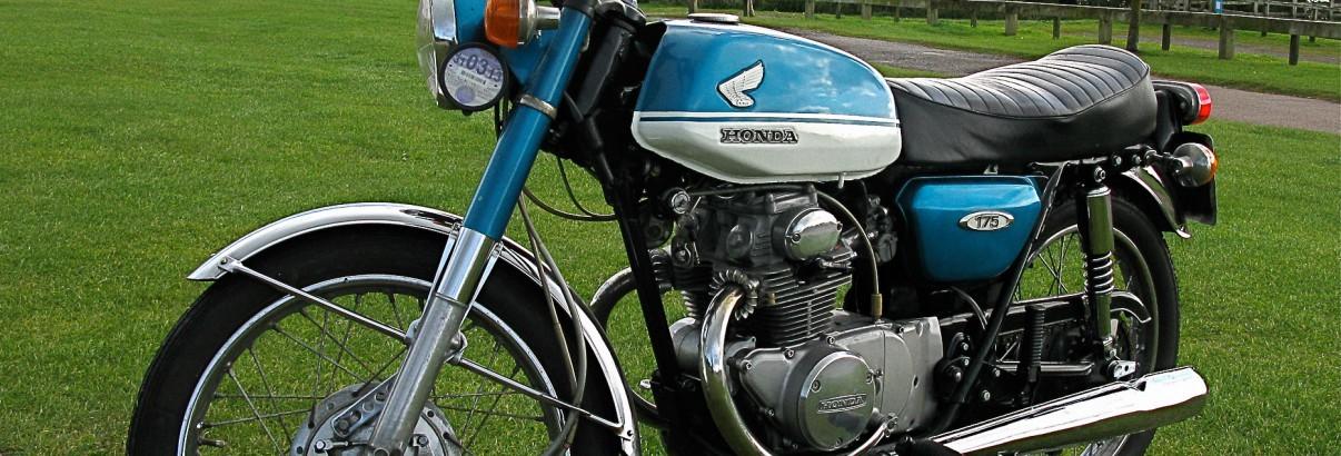 Honda CB 175 K – Die große und sportliche 125er