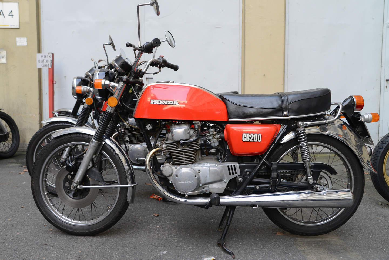 Honda CB 200 (1973 - 1977) - Lückenbüßerin