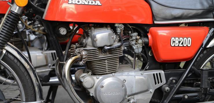 Honda CB 200 Motor
