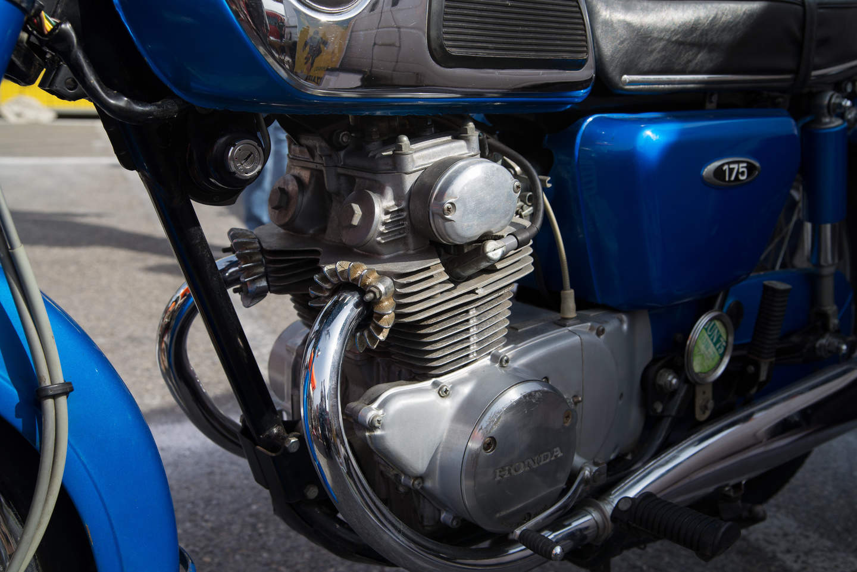 Honda CD 175 (1967 - 1979) - Der günstige Alltagstourer