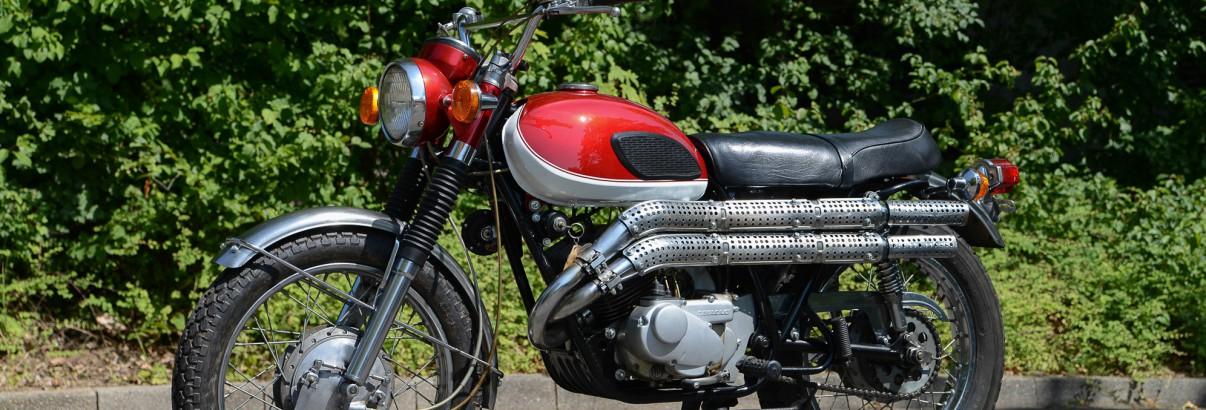 Kawasaki 250 A1 – im Herz ein Samurai