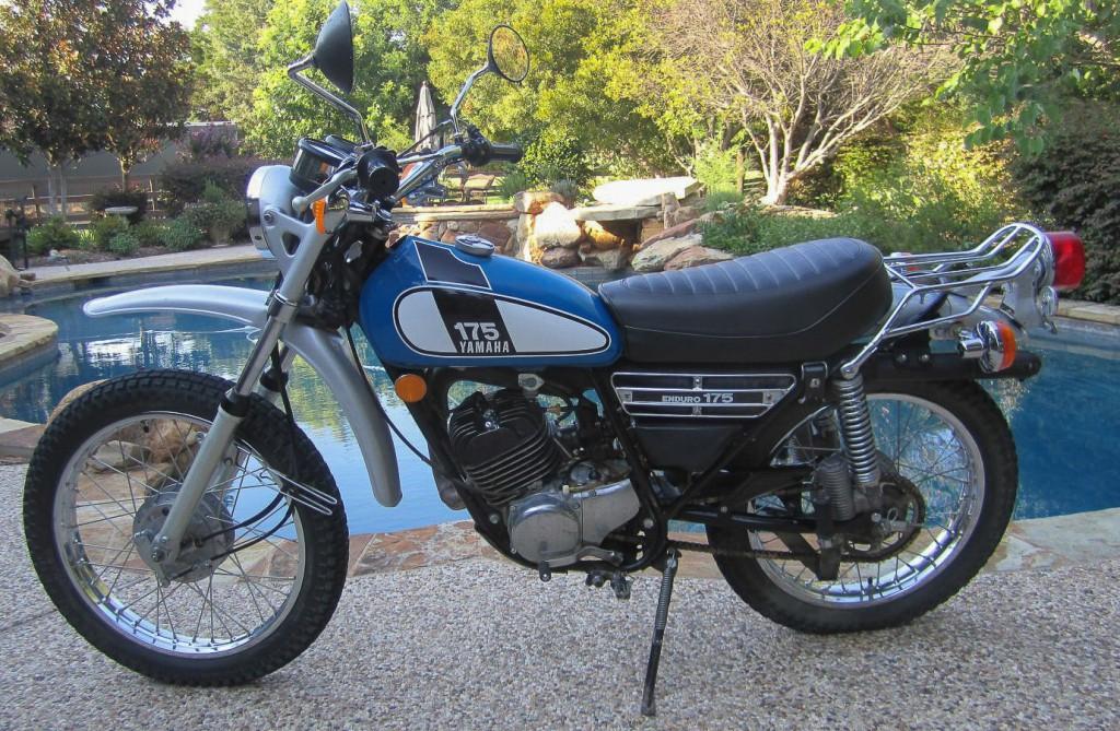 Die Yamaha DT 175 löste im neuen Design die CT1 ab