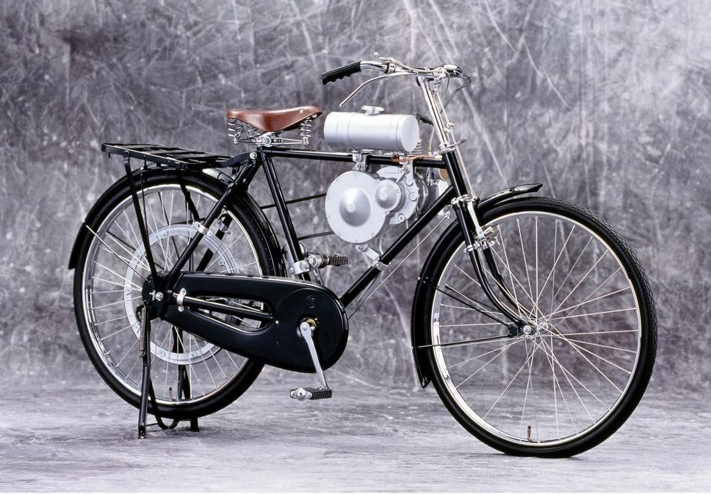 Das Model A aus dem Jahr 1946 (Quelle: Honda Motor Co.)