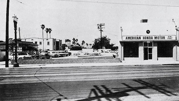Soichiro Honda gründete die American Honda Co.