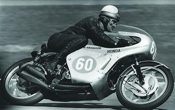 Honda RC173 mit Hailwood 1966