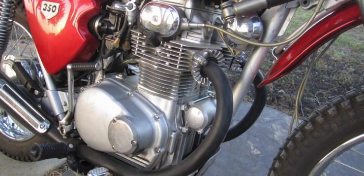 Honda SL 350 Motor