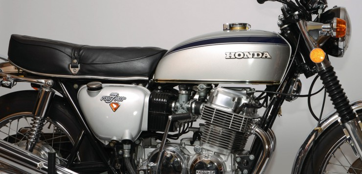 Honda CB 750 Four (1969 - 1978) - das Jahrhundert-Motorrad
