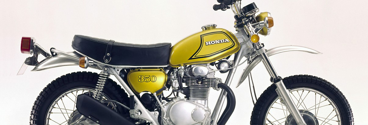 Honda SL 350 – für den bulligen Auftritt im Gelände