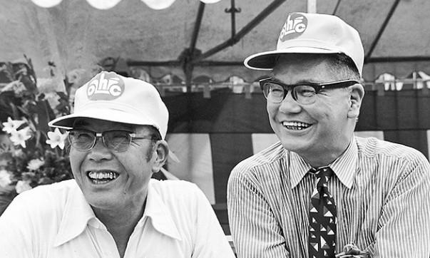 Soichiro Honda und Takeo Fujisawa