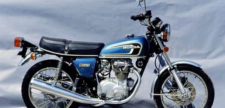 Die letzte Honda CB 250 G kam optisch renoviert auf den Markt