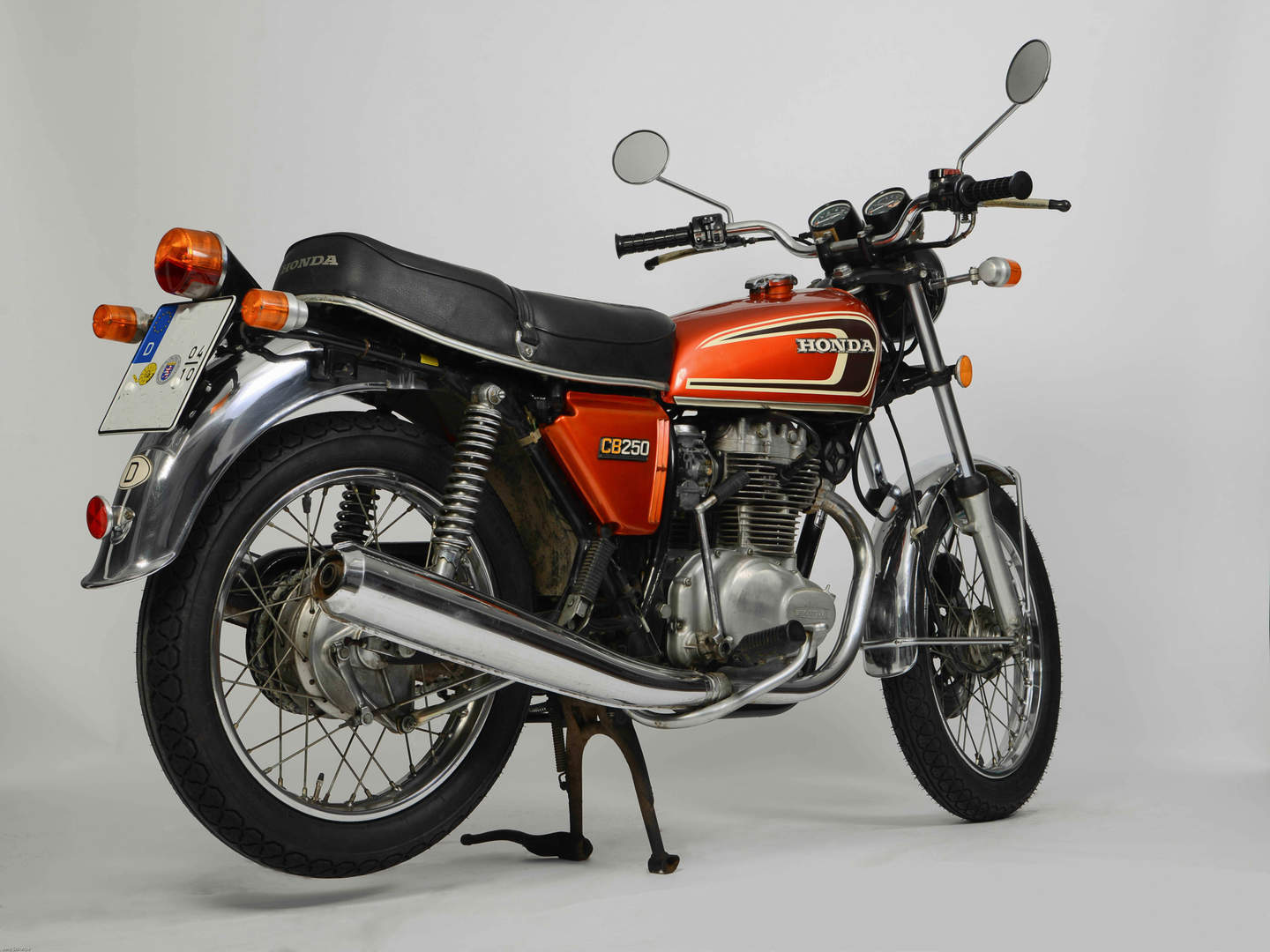 honda cb 250 k 1967 1976 meistverkaufte 250er maschine. Black Bedroom Furniture Sets. Home Design Ideas