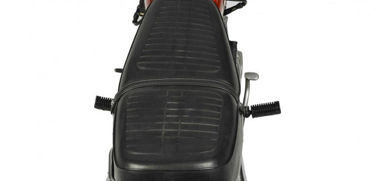 Die Honda CB 250 besaß eine schlanke Linie und bot eine gut Sitzposition