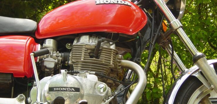 Restaurierte Honda CB 400