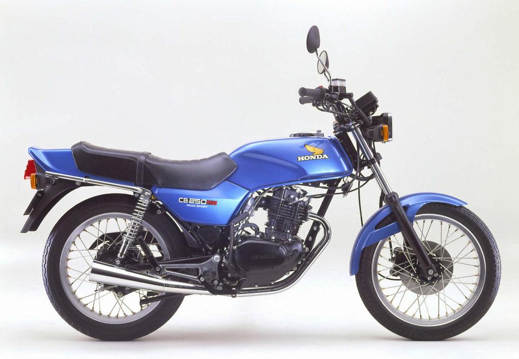 Honda Cb 250 Rs 1980 Bis 1985 Mit Einem Zylinder Flott Unterwegs