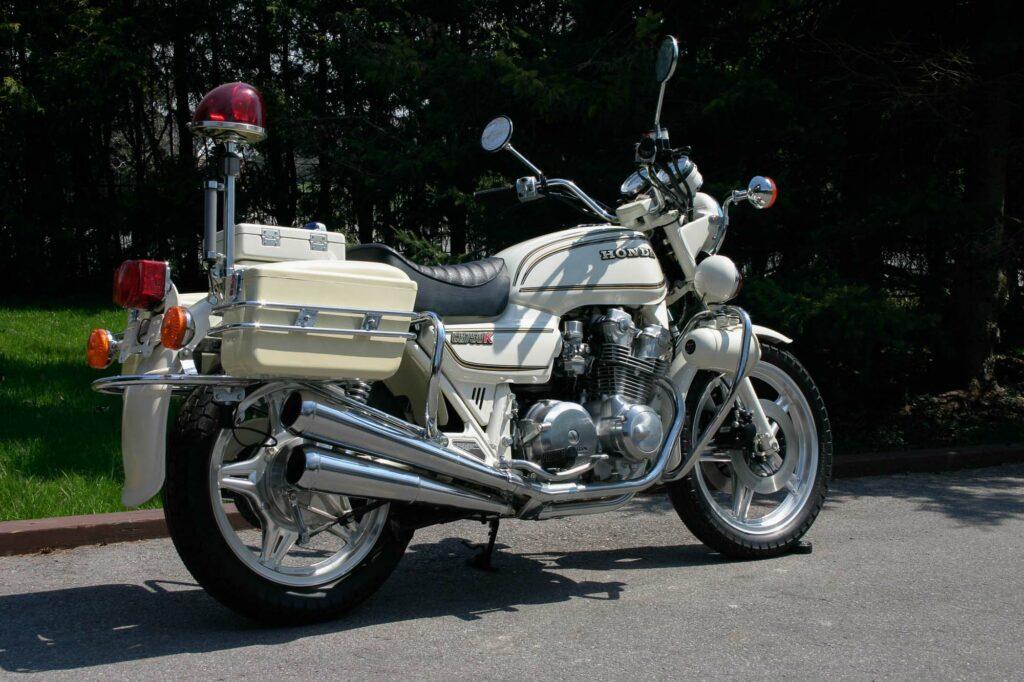 In den USA setzte die Polizei die Honda CB 750 K ein