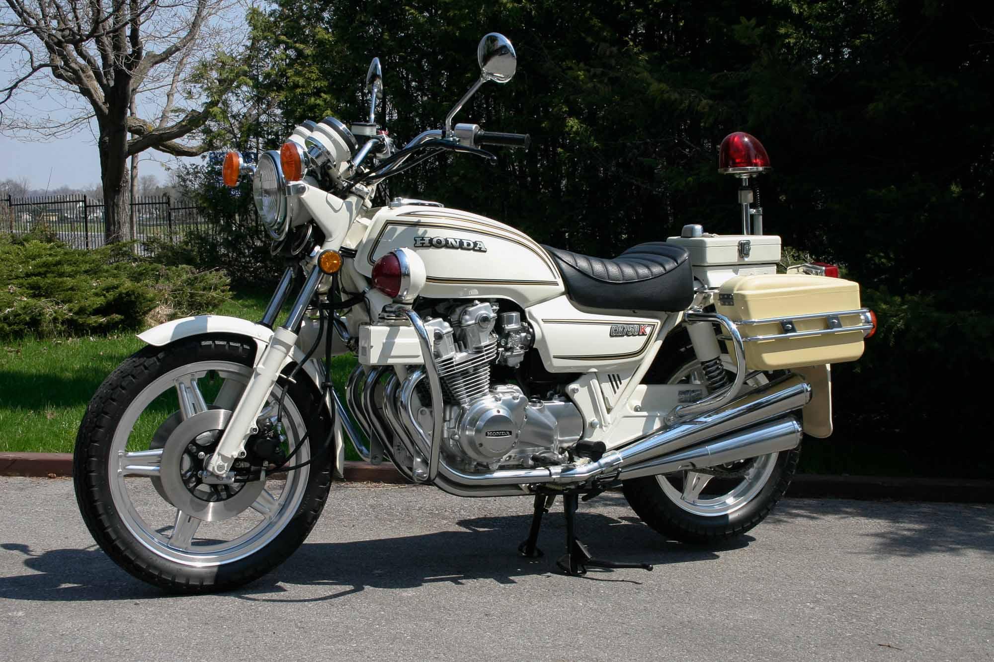 Honda CB 750K Police von 1981