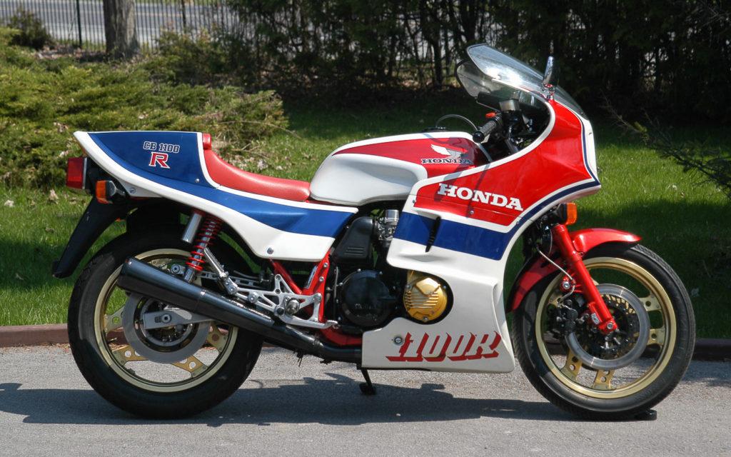 Mit über 15.000 DM war die Honda CB 1100 R seinerzeit auch sehr teuer