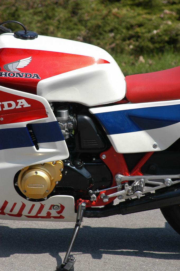 Der Vierzylinder-Motor der Honda CBR 1100 R leistete 115 PS