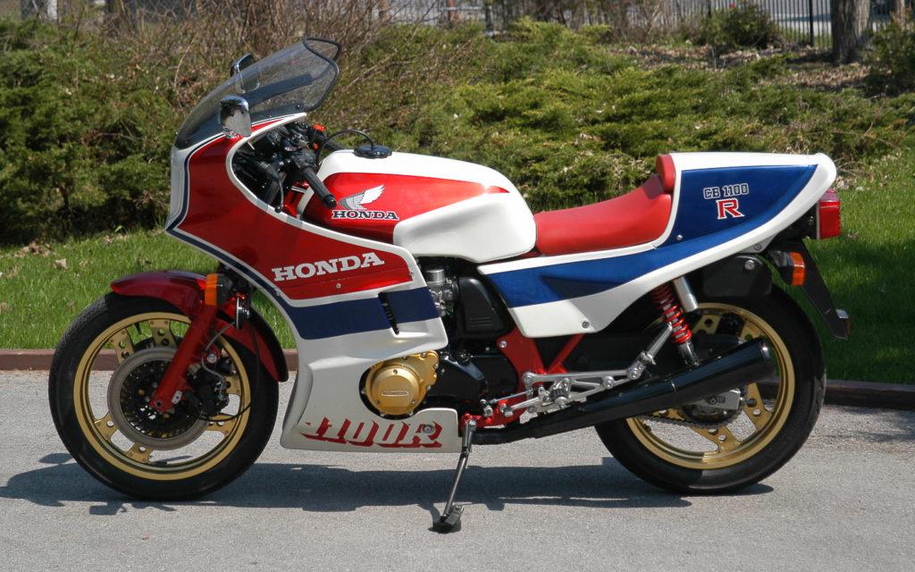 Sie war die Fahrmaschine der frühen 80er Jahre: Honda CB 1100 R