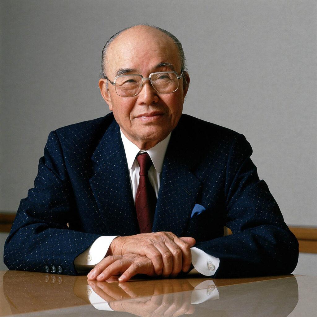 Der große Visionär: Soichiro Honda im Jahr 1988