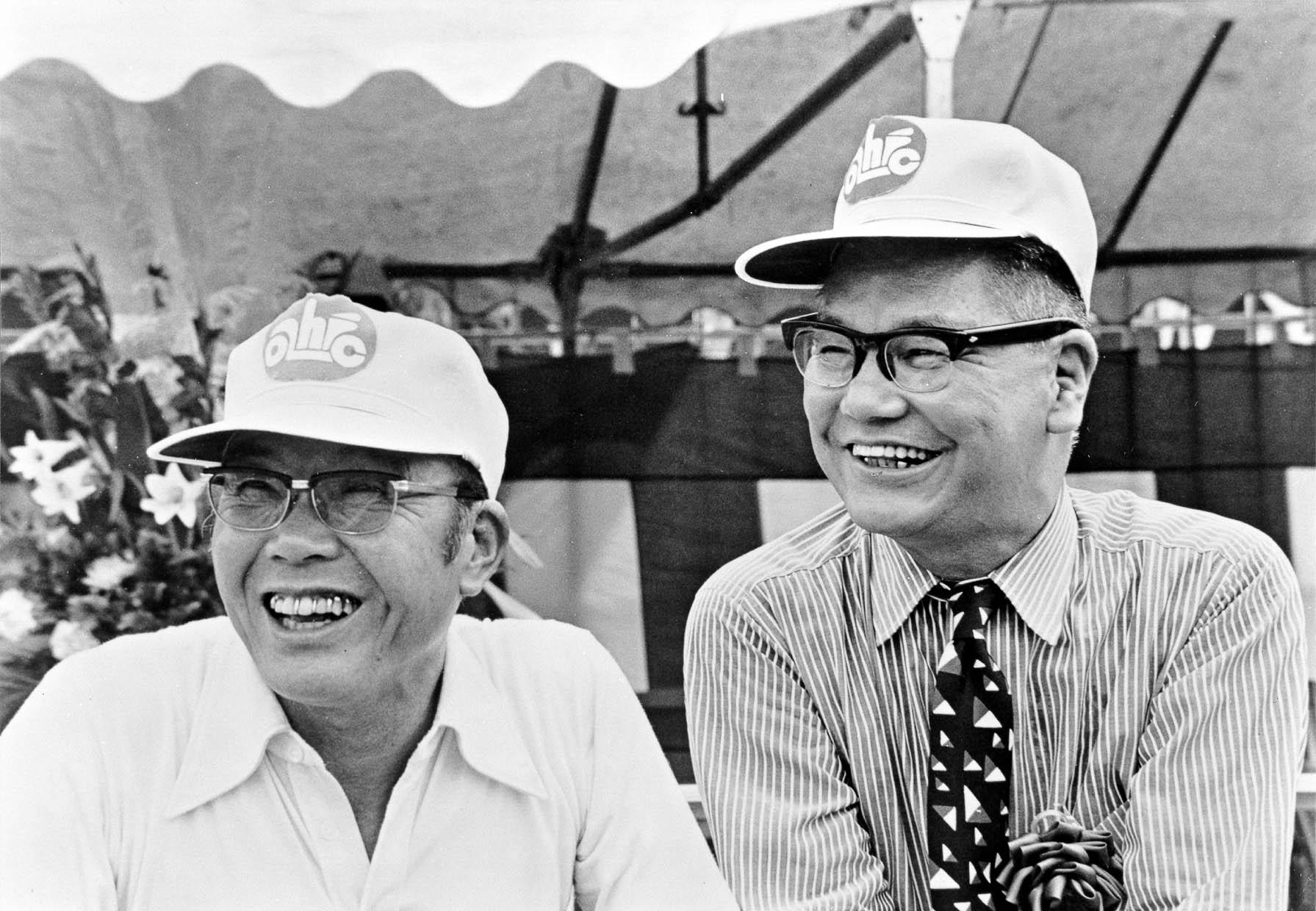Wichtigster Geschäftspartner von Soichiro Honda war Takeo Fujisawa