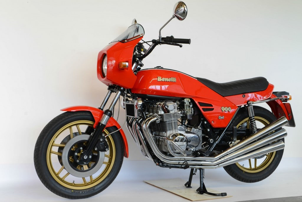 Benelli baute Sechszylinder-Motorräder unter der Bezeichnung Sei 750 und Sei 900