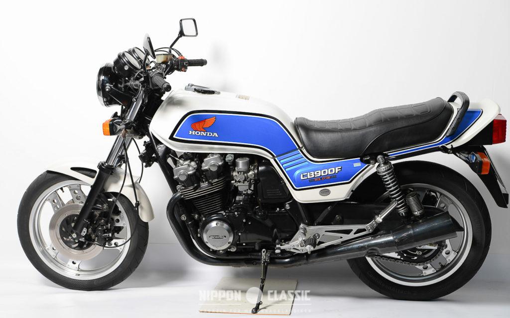 Die Honda CB 900 F Bol d'or gab es in zweifarbigen Lackierungen