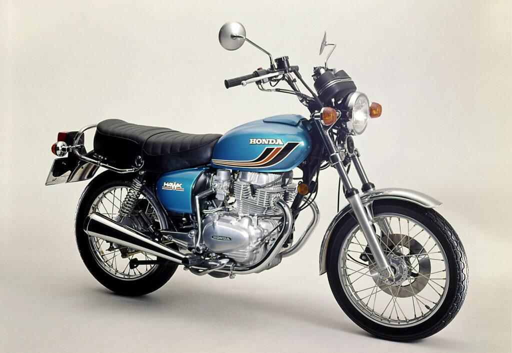 Honda CB 250 T Baujahr 1977 mit Drahtspeichen-Felgen