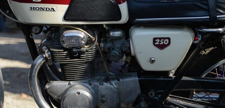 Die Honda CB 250 K0 und K1 besaßen ein 4-Gang-Getriebe