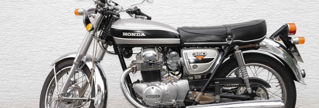 Honda CB 350 K – die große Schwester