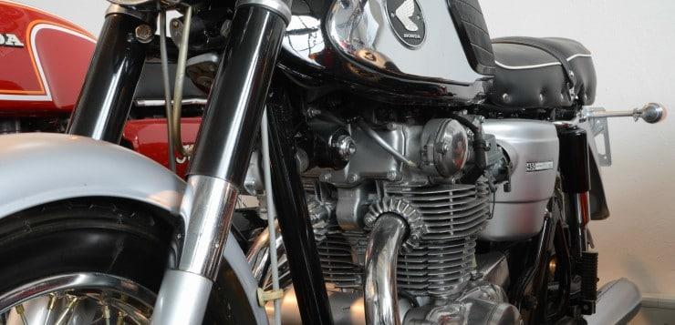 Honda CB 450 Baclk Bomber