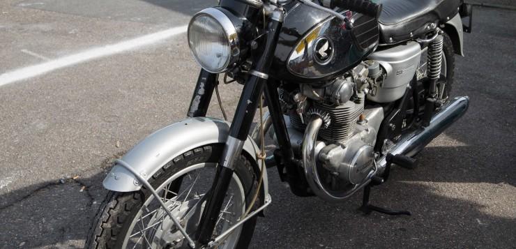 Honda CB 450 (1965-1975) - \