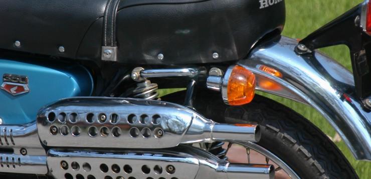 Honda CL 350 Auspuff
