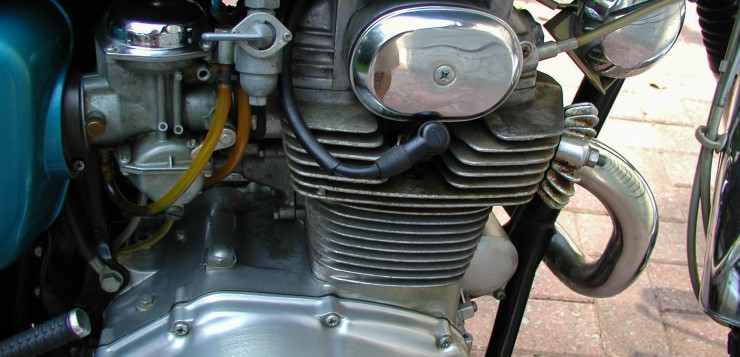 Honda CL 350 Motor