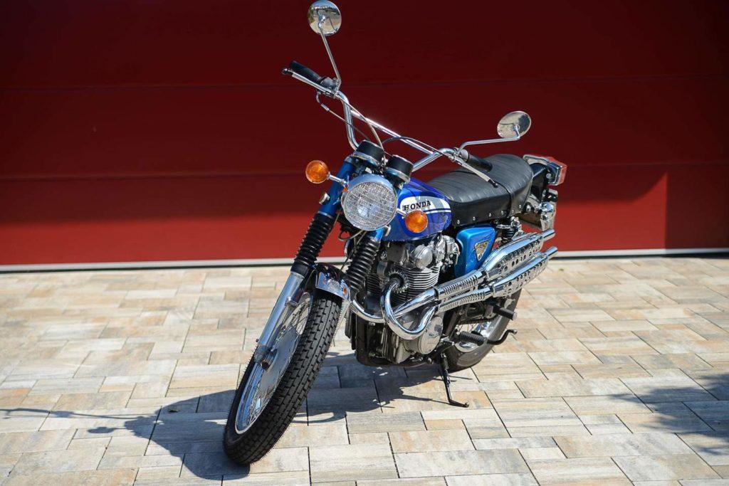 Von der Honda CL 450 K3 kamen nur 60 Exemplare zu uns