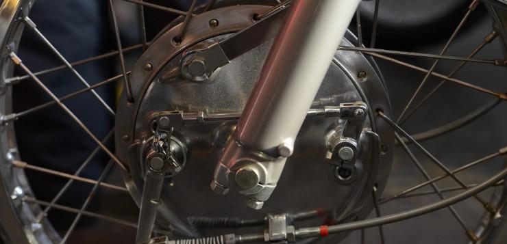 Honda CL 77 Bremse