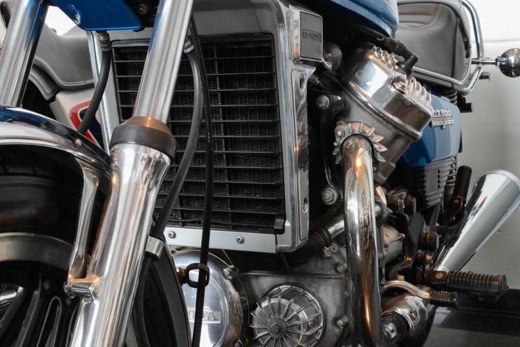 Honda CX 500 Motor
